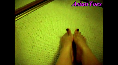Asian foot, Asian feet, Korean foot, Korean feet, Korean show, Koreans
