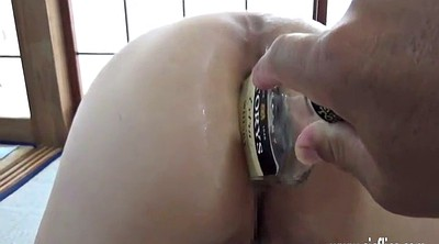 Brutal, Insertion, Asian fisting, Brutal anal, Wife fisting, Asian gaping
