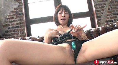 Japanese handjob, Hairy japanese