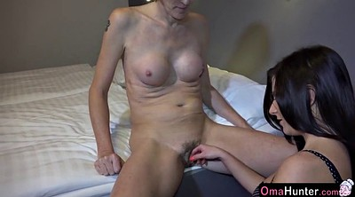 Teen and old, Horny mature