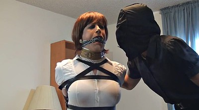 Crossdress, Crossdressing, Sandra, Intruder, Intrude, Crossdresser bondage