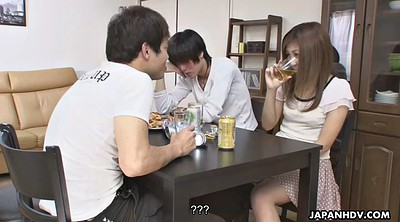 Cheating, Drunk, Cheating wife, Japanese wife, Hitomi, Creampie asian