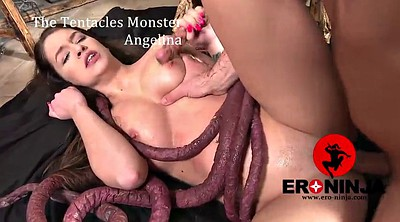Monster, Tentacle, Tentacles, Tentacl, Angelina