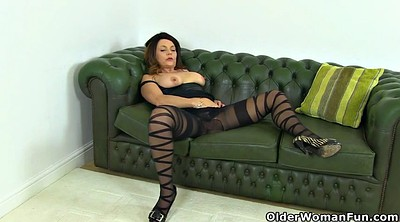 Nylon, Nylons, British mature, Mature nylon