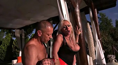 Fishnet, Big cock anal, Russian threesome, Lake, Cassie