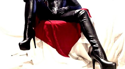 Boots, Leather, Boot, Pvc
