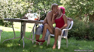 Mature, Old lesbians, Mom sex, Horny mom, Young lesbians, Mom toy