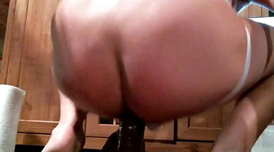 Slap, Sissy, Riding dildo, Slapping