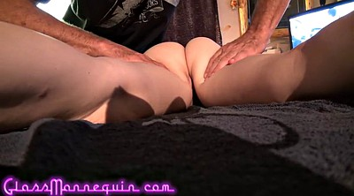 Young girl, Young skinny, Teaching, Old teacher, Granny massage