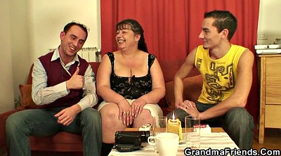 Plump, Mommy, Two granny, Plump mature
