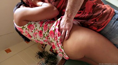 Asian solo, Asian softcore, Kitchen, Asian ass solo