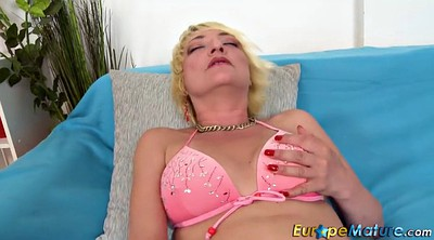 Mature, Granny solo, Solo mature masturbation