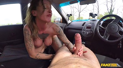 Milf riding, In the car