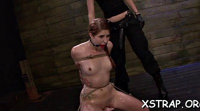 Brutal, Bondage sex, Mistress strapon