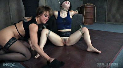 Teen bondage, Crying