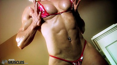 Muscular, Muscle woman