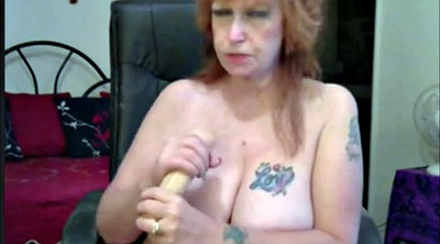 Mature webcam, Mature masturbation