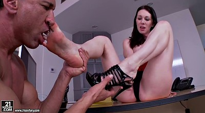 Foot, Office feet, Pornstars fetish