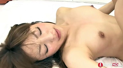 Hairy creampie, Yuri, Hairy licking, Japanese doggy, Japanese cum, Cum filled