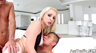 Group, First time, Blowjob, First time sex, Nina