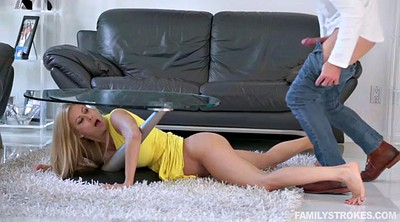 Stuck, Alexis fawx, Under table, Under