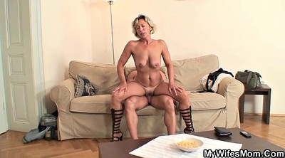 Young old, Wife ride, Cute mature