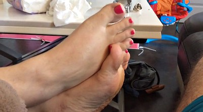 Bbw foot, Bbw feet, French bbw, Nails