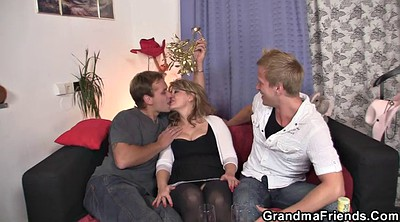 Mommy, Wife threesome, Threesome milf, Mature wife, Granny young, Wife sexy