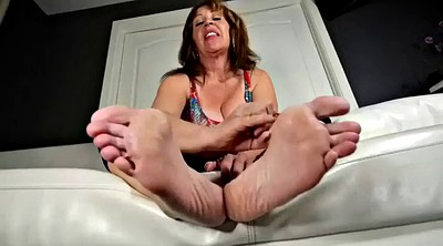 Mature feet, Mature milf