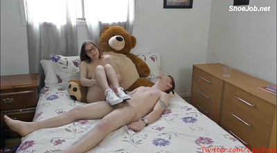 Solo girl, Teen footjob, Footjob teen
