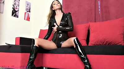 Latex, Latex bdsm, British pov, Boots solo