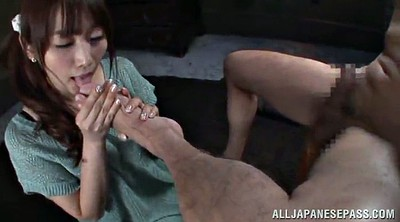 Foot fetish, Asian foot fetish, Blindfold