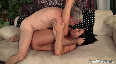 Man, Older woman, Older man, Mature licking, Mature man