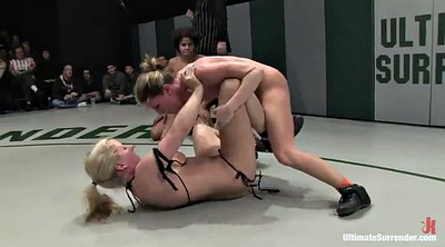 Wrestling, Interracial lesbian, Wrestling sex, Toyed