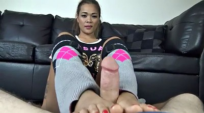 Asian feet, Asian footjob, Teen footjob, Babe footjob