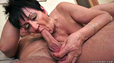 Granny, Short hair, Mature short hair, Short hair mature, Passion hd
