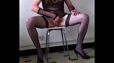 Crossdresser, Training, Gay slave, Crossdress