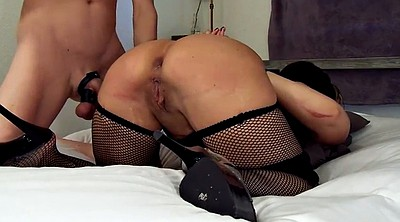 Spanking, Tied, Spanked and fucked
