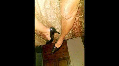 Shoe, Sexy, Mature foot