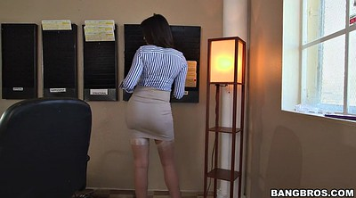 Latina milf, Office boss, Milf boss