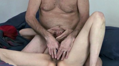 Doggy, Hairy mature