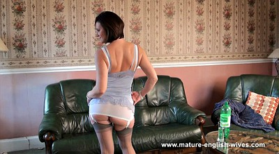 English, Vintage mature, Sophie, Hairy matures