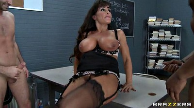 Lisa ann, Three, Crazy, Ann, Prison, Milf anne