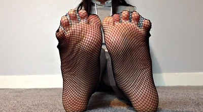 Sole, Toes, Fishnet