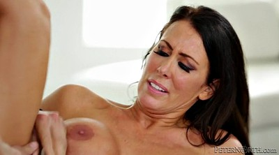 Mom blowjob, Busty mom