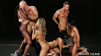 Four, Gym sex, Super hot, Group orgy