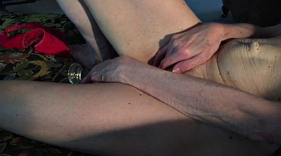 Granny masturbation, Home