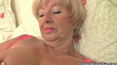 Granny masturbation, Alone, Mature masturbating, Big tits compilation