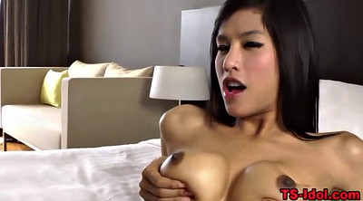 Huge tits, Huge load, Huge cock shemale