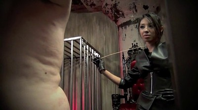 Caning, Latex mistress